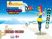 Winter Barbie Dress Up