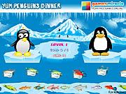 Yum Penguins Dinner