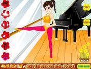 Yoga Girl Dress Up