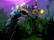 Zombie Smash : Monster Truck Racing Game